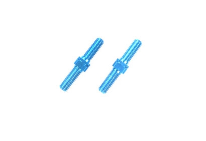 Alu Li/Re-Gewindestangen 3x18mm (2) blau Tamiya 54247 300054247