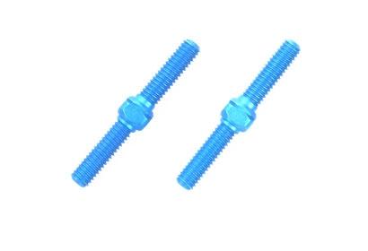 Alu Li/Re-Gewindestangen 3x23mm (2) blau Tamiya 54248 300054248