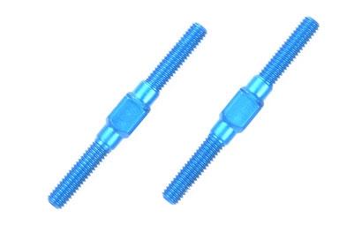Alu Li/Re-Gewindestangen 3x32mm (2) blau Tamiya 54249 300054249