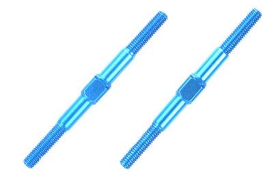 Alu Li/Re-Gewindestangen 3x42mm (2) blau Tamiya 54250 300054250