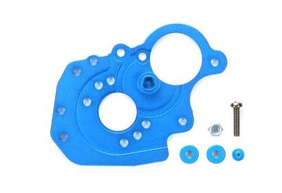 M-06 Alu Motorhalter blau eloxiert Tamiya 54268 300054268