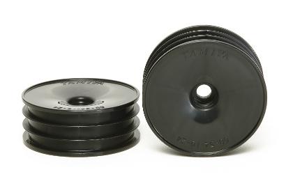 DT02 Buggy Dish-Felgen vorn sw (2) 60/19 Tamiya 54338 300054338