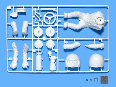 WR-02 Fahrerfigur Bausatz Tamiya 54496 300054496