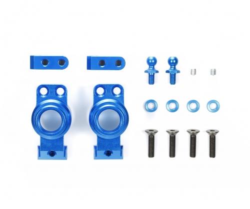 M-07C Alu Achsschenkel hin. (2) blau Tamiya 54781 300054781