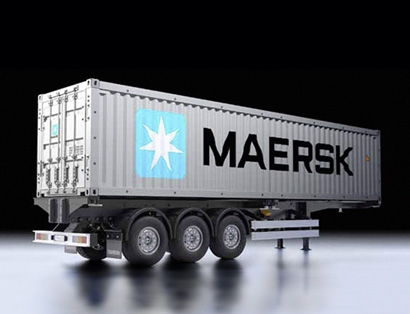 1:14 RC 40ft.Container Auflieger Maersk Tamiya 56326 300056326