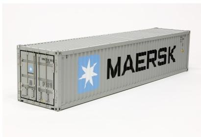 1:14 40ft. Maersk Container Baus.f.56326 Tamiya 56516 300056516
