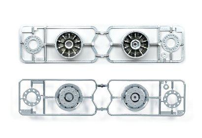 1:14 Truck/Aufliegerfel.30mm ml(2)Chr.m. Tamiya 56520 300056520