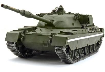 1:25 RC Panzer Britsh Chieftain m. 4-K Tamiya 56603 300056603