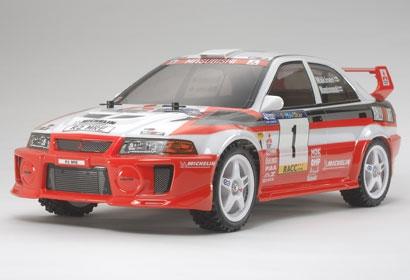 1:10 RC Mitsubi.Lancer Evo V WRC DF-03Ra Tamiya 58461 300058461