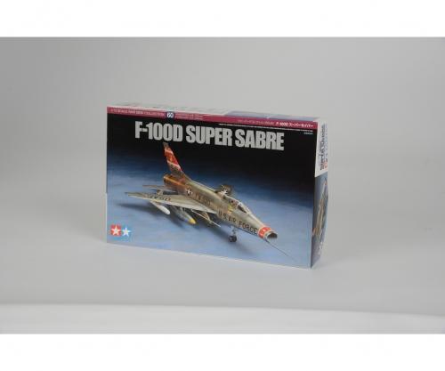 1:72 F-100D Super Sabre Tamiya 60760 300060760