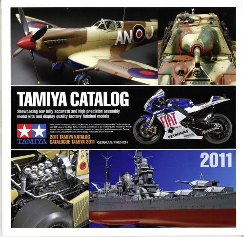 Tamiya Katalog 2011 Deutsch/Franz. Tamiya 64365 300064365