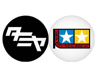 Anstecknadel TAMIYA Logo 1960 (2) sw/fa. Tamiya 66938 300066938