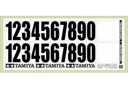 Tamiya Aufkleber Startnummern (1) Tamiya 66976 300066976