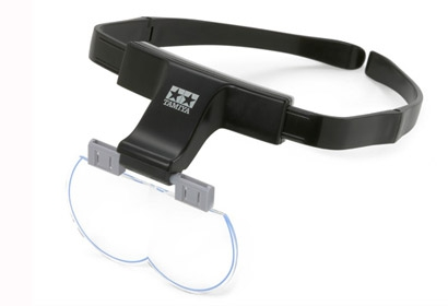 Vergrösserungs-Brille m Linse 1,7/2/2,5x Tamiya 74092 300074092