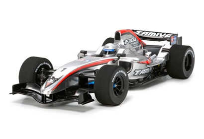 1:10 RC F104 Pro Chassis m.Leicht.-Kar. Tamiya 84106 300084106