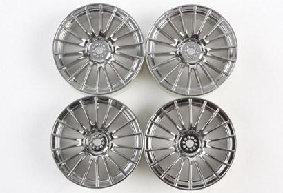 MN 18-Spoke Wheel chrome Tamiya 84152 300084152