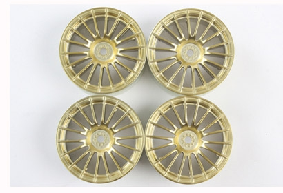 MN 18-Spoke Wheel gold Tamiya 84153 300084153