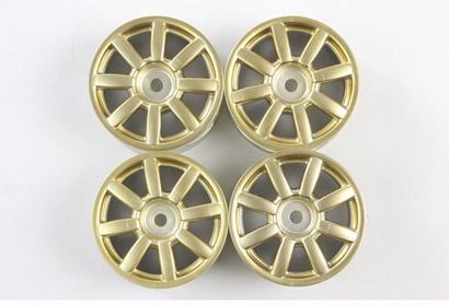 1:10 M-Chassis Felgen 8-Speichen (4)Gold Tamiya 84156 300084156