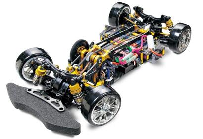 1:10 RC TA05-VDF Drift Chassis Gold Edi. Tamiya 84188 300084188