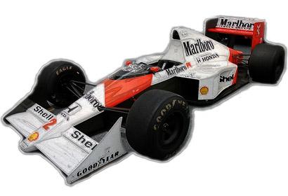 1:10 RC F104W McLaren MP4/5B Honda 1990 Tamiya 84192 300084192