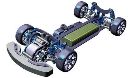 1:10 RC FF04 EVO Chassis Kit Tamiya 84394 300084394