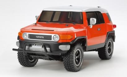 1:10 RC Toyota FJ Cruiser Orange (CC-01) Tamiya 84401 300084401