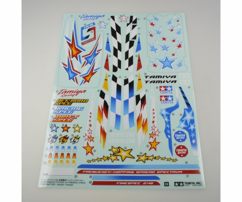 TAMIYA Sticker Finespec 2,4GHz RC Tamiya 84420 300084420