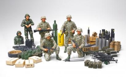 1:35 US Modern Infantry mit Zubehör Tamiya 89772 300089772