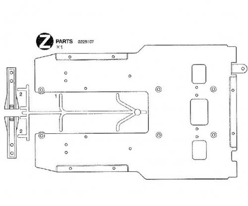 Z-TEILE 56314 Tamiya 0225107