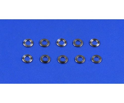 Alu Spacer 5,5x0,5 mm silber (10) Tamiya 9804198 309804198