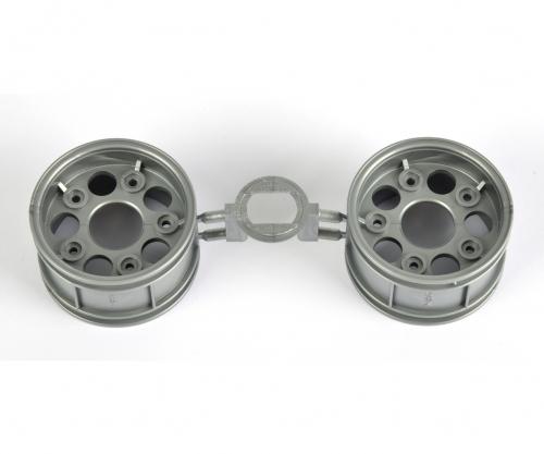 Porsche 911 RSR Felge hin. sil. 26mm (2) Tamiya 440610 310440610