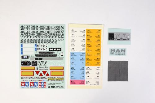 Sticker-Beutel MAN TGX  56325 Tamiya 9495629 319495629