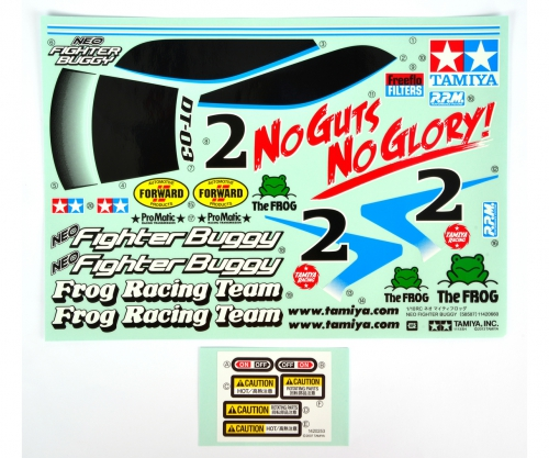 DT03 Sticker Neo Fighter Buggy Tamiya 9495811 319495811