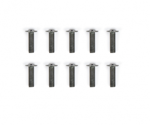 FF-03 FK+ Schraube M3x10 (10) schwarz Tamiya 9804418 319804418