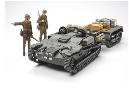 French Armored Carrier UE Tamiya 35284