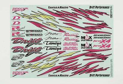 Aufkleber (Graffiti) Tamiya 53886