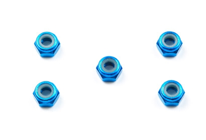 Aluminum Lock Nut 4mm Tamiya 54080