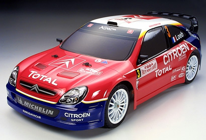 4WD Citr.Xsara WRC 04 TT-01 Tamiya 58332