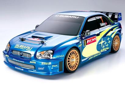 Subaru Imprez.WRC 2004 TT01 Tamiya 58333