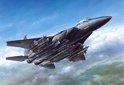 F-15E STRIKE EAGLE BUNKER B Tamiya 60312