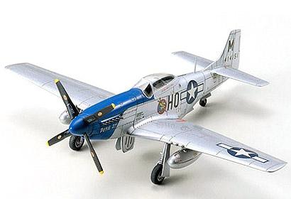MUSTANG P-51D 1:72 Tamiya 60749