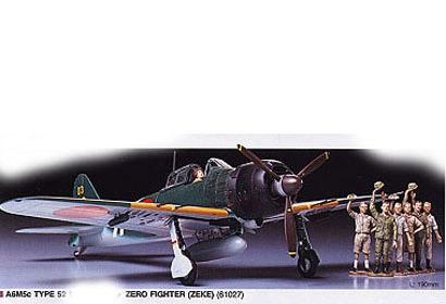A6 M5C TYPE 52 ZERO FIGHTER Tamiya 61027
