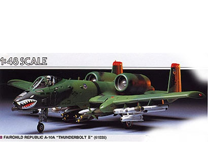FAIRCHILD REPUBLIC A10-A,TH Tamiya 61028
