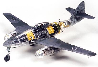 ME 262A-1A CLEAR-EDITION Tamiya 61091