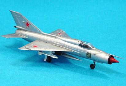 MIG-21 Fishbed-F 1/100 Tamiya 61602