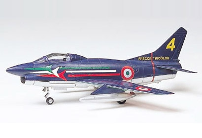 FLAT G.91/R1/R4 1/100 Tamiya 61610