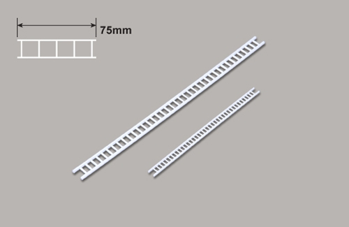 Leiter (N)  x 75mm Plastruct