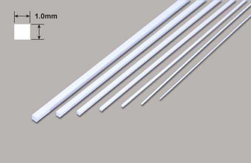 Vierkant - Mikrostäbe - 1.0 x 1.0 x 250mm Plastruct