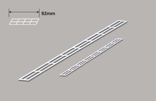 Treppengelander (HO)  x 150mm Plastruct