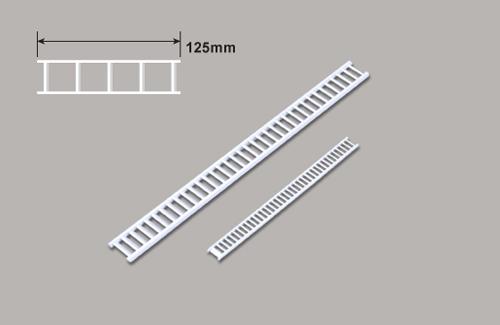 Treppen (HO) x 125mm Plastruct